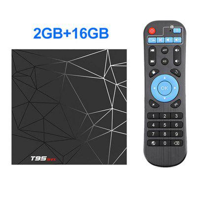 2020 Android Smart TV Device 9 4GB 32GB 64GB T95 Max TVBOX Allwinner H6 Quad Core 6K HDR 2.4GHz Wifi T95MAX Android Decoder Image