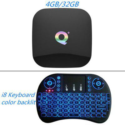 Q Plus Android 9.0 TV Box 4GB 32GB 64GB Smart TV Device Allwinner H6 Quad Core 6K H.265 2.4GHz Wifi Google Player QPlus Set Top Box Image