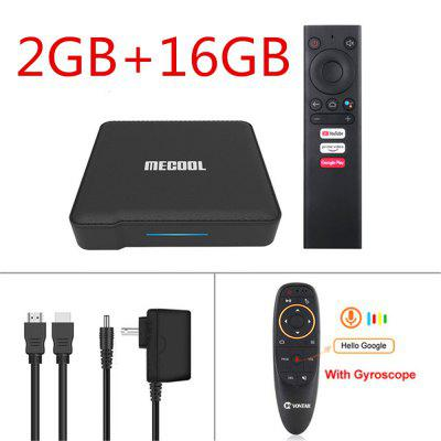 2020 Mecool KM1 ATV Certified by Google Android 9.0 TV Box Amlogic S905X3 Smart Androidtv Prime Video 4K Wifi Dual 2T2R Set Top Box Image