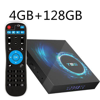 Android 10 Allwinner H616 Quad Core 4GB RAM 16GB 32GB 64GB Wifi 6K Smart Android Media Player T95 PK s905x3 Set Top Box Image