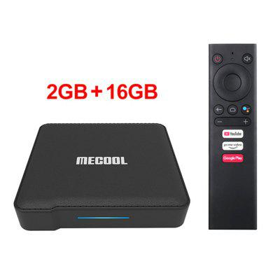 2020 Mecool KM1 ATV Certified byGoogle Android 9.0TV Box Amlogic S905X3 Smart Androidtv Prime Video 4K Wifi Dual 2T2R Set Top Box Image