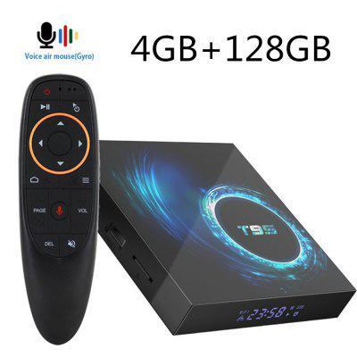 T95Android10SmartTV Device 4GB16GB32GB 64GB128G AllwinnerH616 Quad Core6KH.265 2.4G 5GWifiAir Mouse Google Youtube Player Android Media Player 10.0 Image