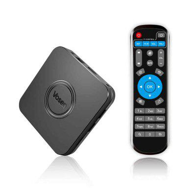 VOSEN V1 2GB DDR4 16GB ROM i8 mini wireless keyboard Air Mouse Smart Home TV Box with IOT Z-WAVE Android 9.0 to 2.4G / 5G WiFi USB 3.0 4K Set Top Box Image