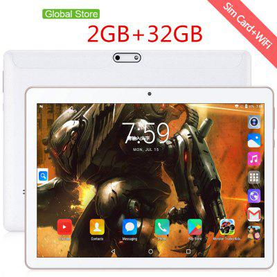 10 Inch Tablet Pc Android 9.0 Google Market 3G Phone Calls Dual SIM Card WiFi GPS Bluetooth 10.1 Tablets Image