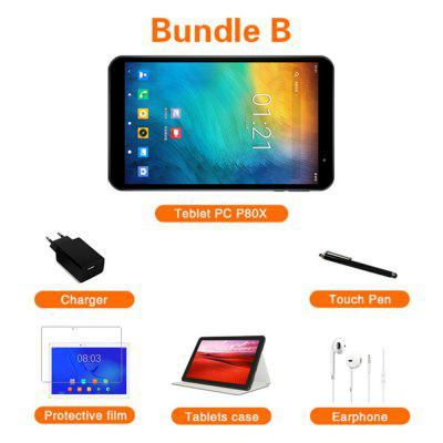 Teclast P80X 4G Tablet Android 9.0 Netbook Phablet 8 Inch Tablets 1280x800 SC9863A Octa Core 2GB RAM 32GB ROM GPS Dual Camera Image