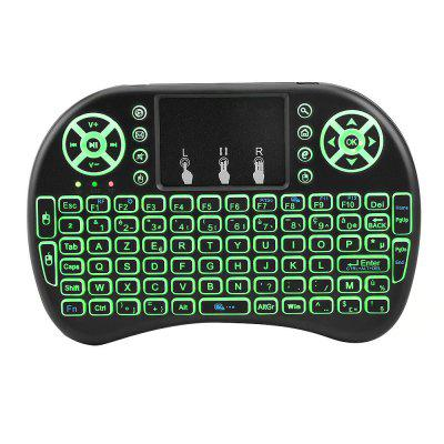 Backlit Wireless I8 Mini Keyboard with Touchpad English l for Android TV BOX 2.4G