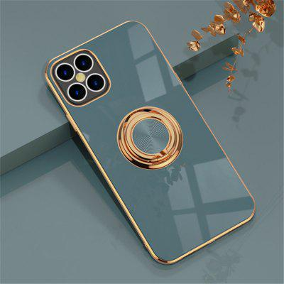 Suitable For i Phone 12 Silicone Mobile Phone Case-Solid Color