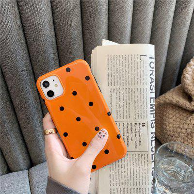 Simple Series Protective Cover Silicone Soft Phone Case For iPhone-Black
