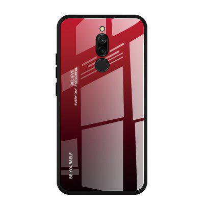 Suitable For Redmi 8/8A Tempered Glass + TPU Redmi Phone Case 9/9A