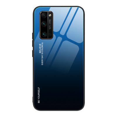 TPU PC Huawei Honor Tempered Glass Anti-drop Phone case  Suitable For 30Pro V30 Play4T Por 10X