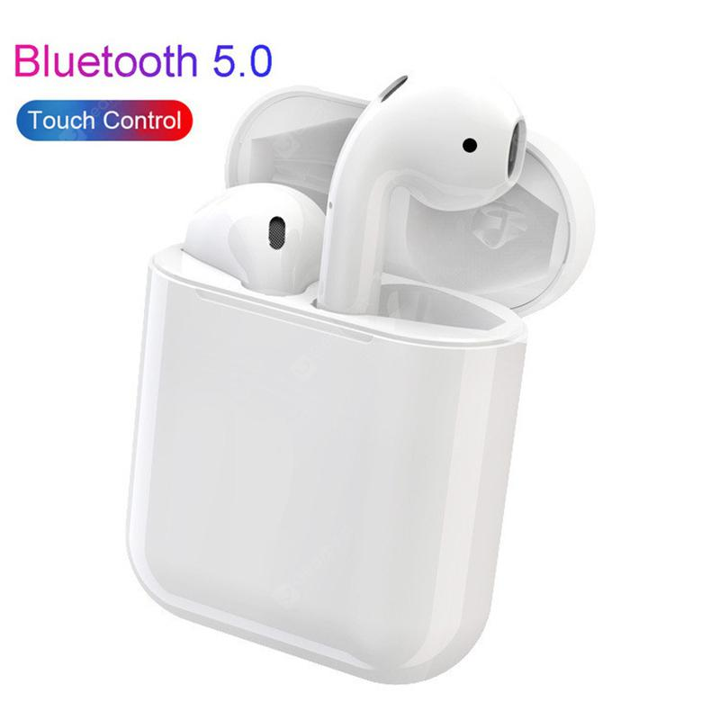 i13 TWS Touch Control Bluetooth Earphones Super Bass Stereo Earbuds - WE