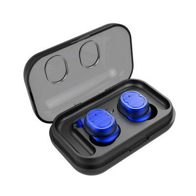 TWS Invisible Bluetooth Earphone Wireless Touch Control Mini Headset Sport Ear Hook HIFI Stereo