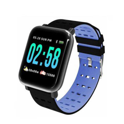 GONOKER A6 Smart Watch with Heart Rate Monitor Fitness Tracker Blood Pressure Smartwatch Waterproof