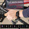 GONOKER Y7 Smartwatch IP67 Waterproof Activity Tracker with 8 Sports Modes HR Blood Pressure Monitor
