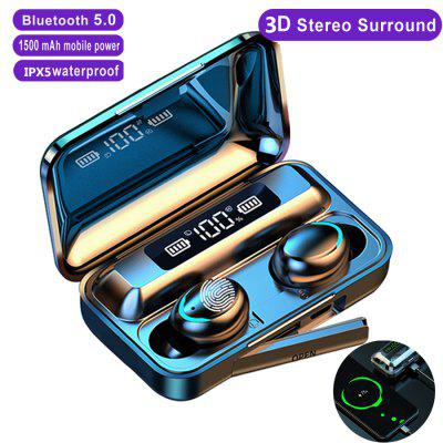 HG3 Bluetooth Wireless Earphone 3D True Stereo Touch Earbuds Headset With Mic for SmartPhone