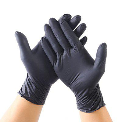 100 PCS Disposable Gloves Latex Medical Work Rubber Garden Gloves Waterproof Anti-bacteria Gloves