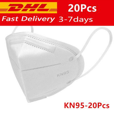 DHL Fast 6 layers KN95 Mask filtering disposable mouth Face Mask FFP2 N95 Protection Face dust Mask