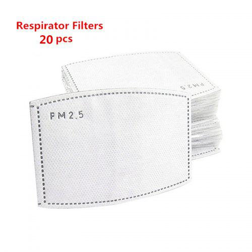 Dustproof PM2.5 Reusable Mask With Breathing Valve Activated Filter Respirator Non-medical Mask