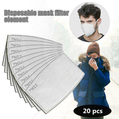 PM2.5 Filter Paper Anti Haze Anti Dust Non-medical Mask Activated Carbon Filter Health Care Filters