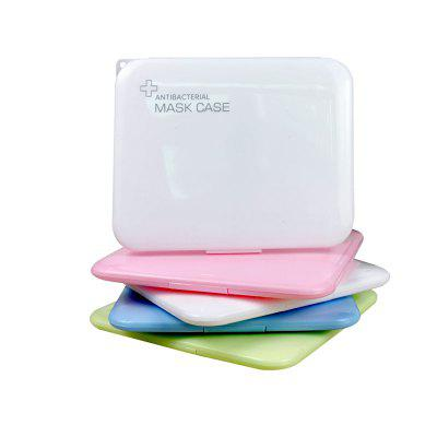 New Hot Portable Dustproof Moisture-proof Storage Box Mask Case Medicine Band-aid Bill Temporary Folder