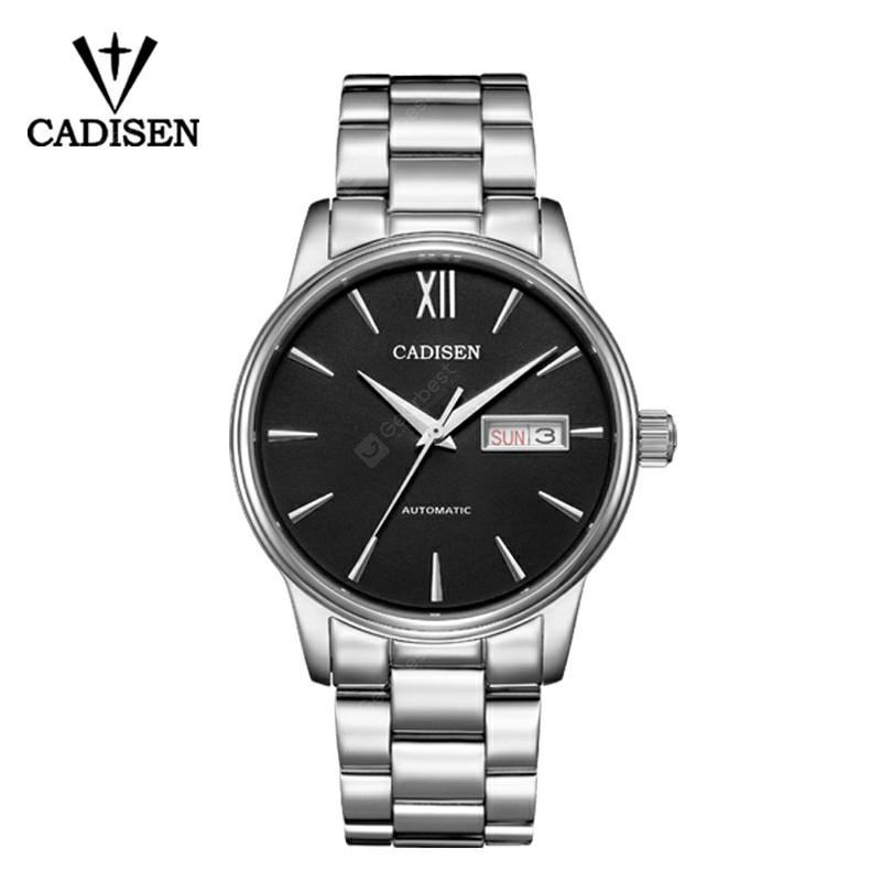 CADISEN 2019 Men Watch Automatic Mechanical Role Date Fashion luxury Brand Waterproof Clock