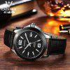 CADISEN Watches Classic Mens Automatic Mechanical Watch Black Leather Man Black Ceramic Wristwatch