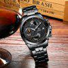 CADISEN Hot Watch Men Top Brand Luxury Sport Fashion Quartz Watches Stainless Steel Waterproof