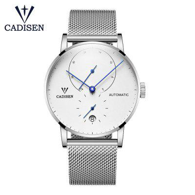 CADISEN Mens Watches Top Luxury Brand Automatic Mechanical Waterproof Fashion Sport Watch Men