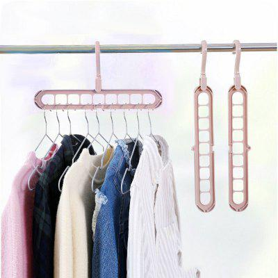 Multi-function Clothes Plastic Drying Rack Wardrobe Storage Hanger Outdoor Balcony Drying Racks