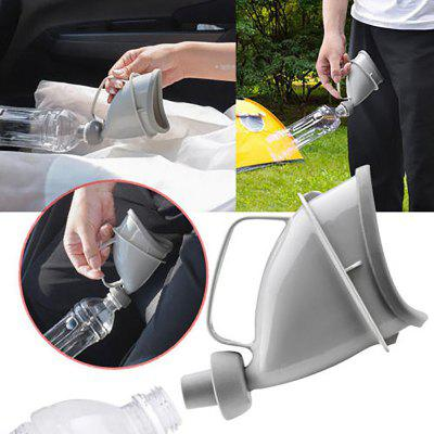 Portable Travel Urinal Car Handle Urine Bottle Urinal Funnel Tube Outdoor Camp Urination Device