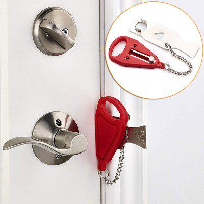 Portable Hotel Door Lock Locks Self-Defense Door Stop Travel Door Stopper Door Lock