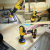 Bathroom Surfaces Tub Shower Tile and Grout All Purpose Power  Scrubber Drill Brush Cleaning Kit