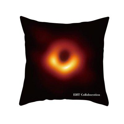 Black Hole Universe Galaxy Pillow Case Cover Sofa Cush Letter hug pillowcase Car Home Decor