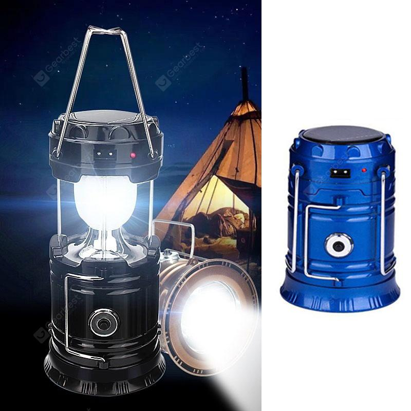 Camping Light Solar Energy Outdoor Campi