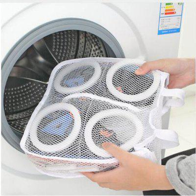 Fashion Storage Organizer Bags Mesh Laundry Shoes Bags Dry Shoe Organizer Portable Washing Bags