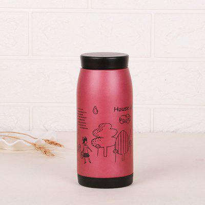 Cartoon stainless steel insulation cup fashion cute milk cup creative student hand cup
