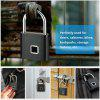 Safety Keyless Lock USB Battery Door Lock Fingerprint Smart Padlock Quick Unlock