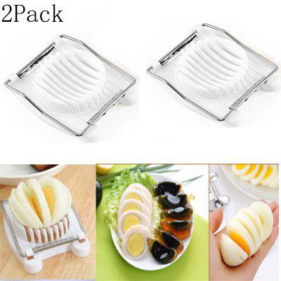Kitchen Manual Gadgets Egg sliced Slicers Stainless Steel Tools