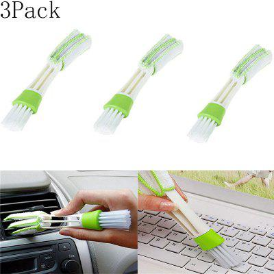 Car With Air Conditioning Outlet Blinds Cleaning Brush Keyboard Brush