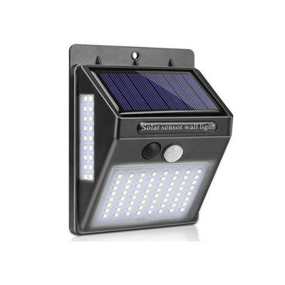 100 LED Outdoor Solar Lamp Motion Sensor Wall Light Waterproof Powered
