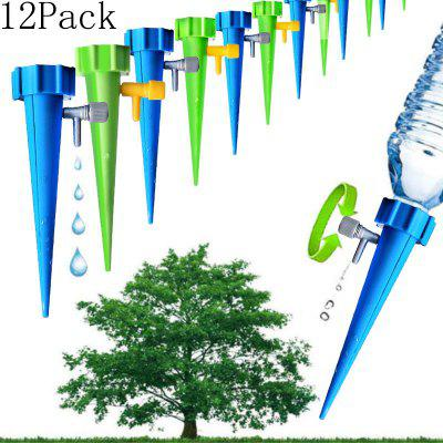12Pack Watering Device Plant Drip Irrigation Tools Lazy Man Watering Flowers kit