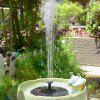 Solar Fountain Water Pump Kit Garden Outdoor Panel Floating Fountain Garden Decoration
