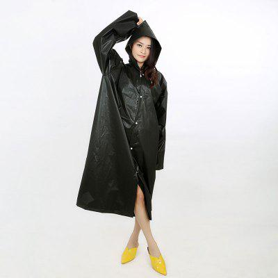Fashion Women Men Raincoat Thickened Waterproof Rain Coat Transparent Camping Waterproof Rainwear