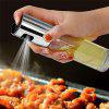 Stainless Steel Oil Spray Glass Bottle Vinegar Bottle Oil Salad Barbecue Oil Spray