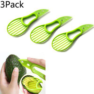 Avocado Knife Three-in-one Multi-Purpose Fruit Knife Avocado Knife Kitchen Tool