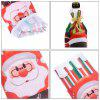Santa Claus Wine Bottle Set Cover Snowman Gift New Year For Christmas Bottles Decorations