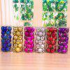 24Pack Christmas Tree 3CM Ball Decorations for DIY Hanging Ornament for Home Christmas Decoration