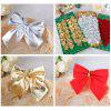 36Pack Christmas Tree Three Kind Color Bows Decorated With Christmas Bow Christmas Gifts