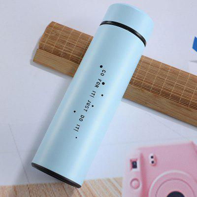 500ML Smart LED Touch Temperature Display Insulation Cup 304 Stainless Steel Creative Water Cup