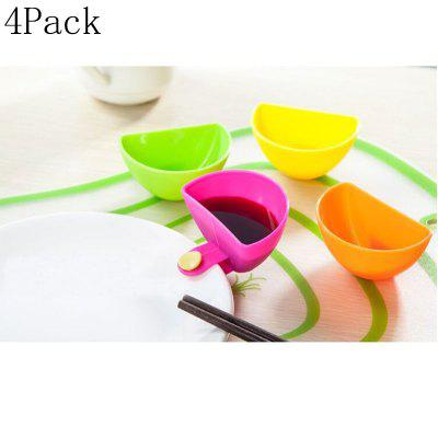 Kitchen Can Clip Bowl Seating Dish Dish Multi-Seasoning Dish With Seasoning Dish Salad Flavoring Box